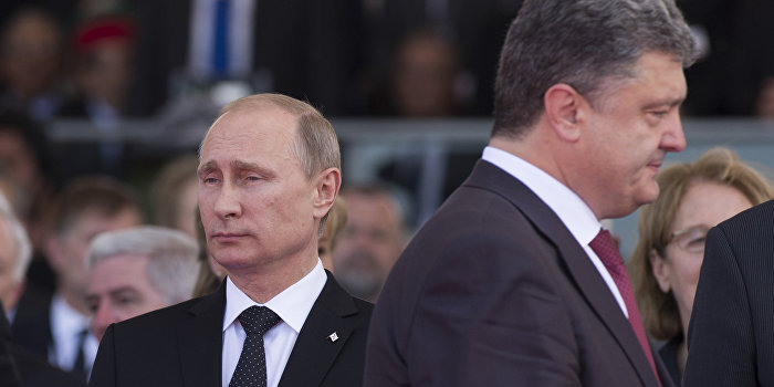 Путин и Порошенко достигли согласия по вооруженной миссии в Донбассе