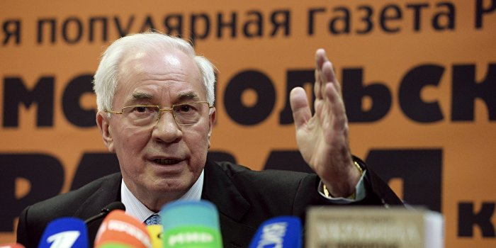 Азаров: Переворот в Киеве привел к событиям в Донбассе и отделению Крыма