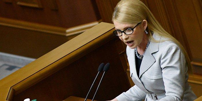Тимошенко вскрывает финансовые махинации Яценюка на миллиарды