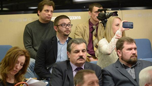 Об Олесе Бузине в Москве говорили и на русском, и на украинском
