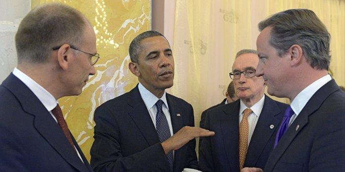 Обама: Конфликт на Украине будет решать НАТО