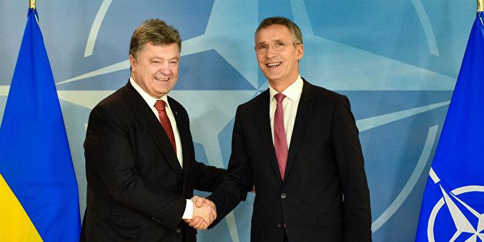 Порошенко: Надеемся, что наш партнер - НАТО будет давить на Россию
