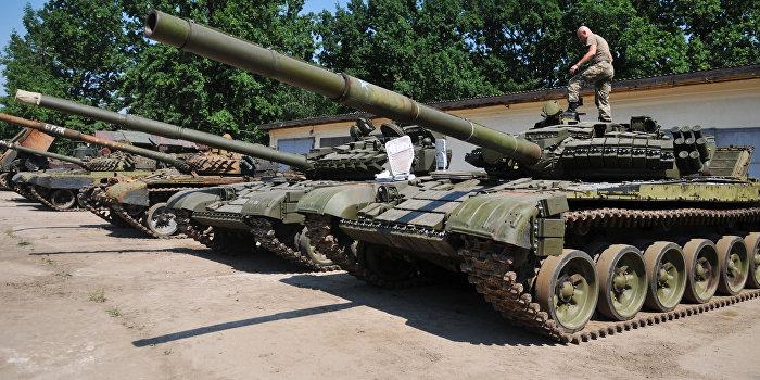 ВСУ массово перебрасывают в Донбасс танки и «Грады»