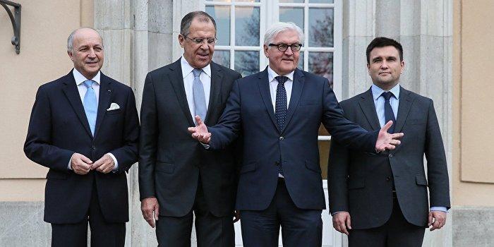 «Нормандский формат» на министерском уровне соберется в ближайшие дни