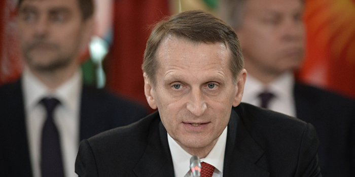 Нарышкин опасается за безопасность атомных объектов Украины