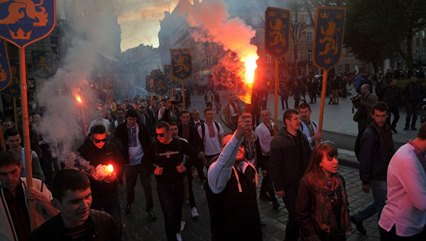 Львовский парад вышиванок посвятили СС