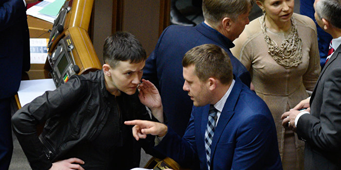 Савченко заподозрили в подготовке переворота