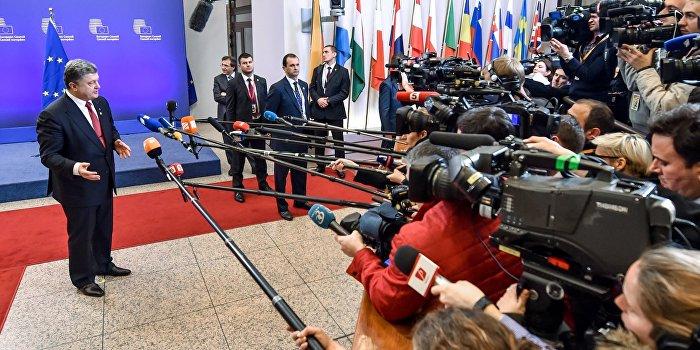 Порошенко пообещал журналистам то, чего нет