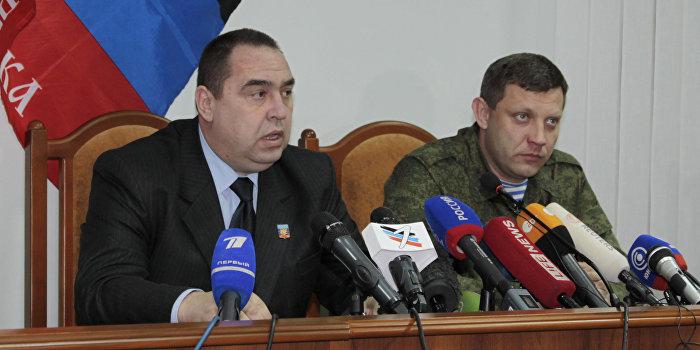 Погребинский: Плотницкий и Захарченко легитимнее Порошенко