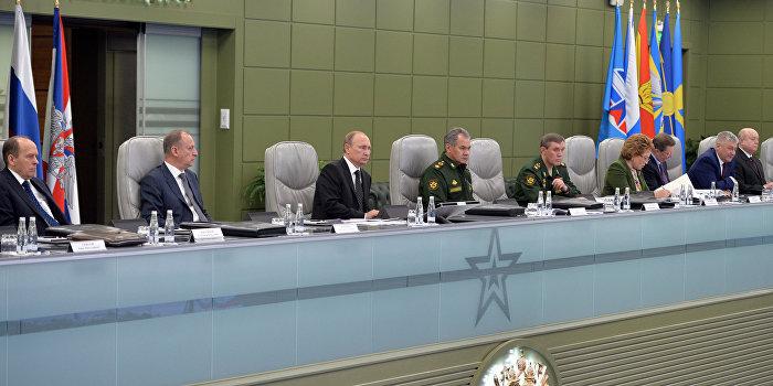 Путин объявил внезапную проверку боеготовности Вооруженных сил РФ