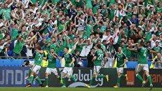 Болельщик сборной Северной Ирландии не пережил матч с Украиной