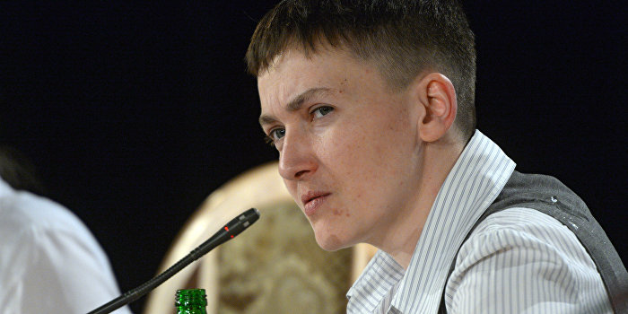 Савченко рассказала, почему не сбежала из плена