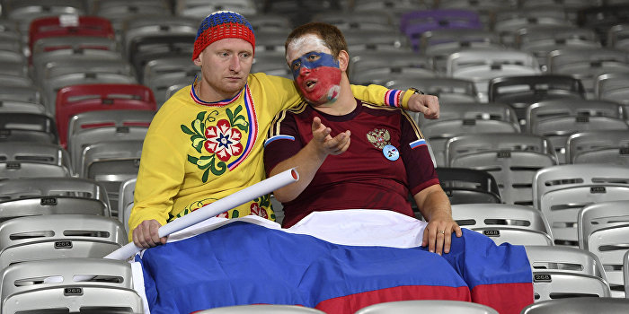 Футбол подружил украинцев и россиян