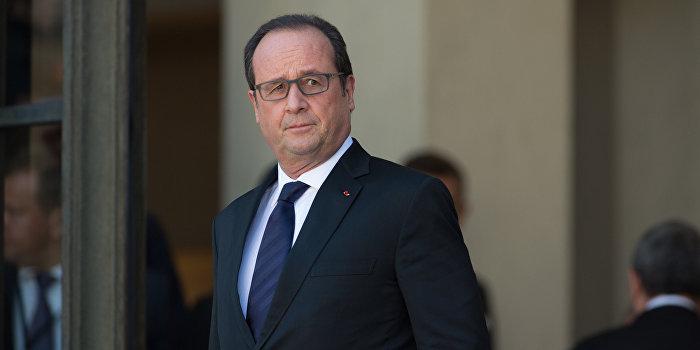 Олланд назвал условие отмены антироссийских санкций