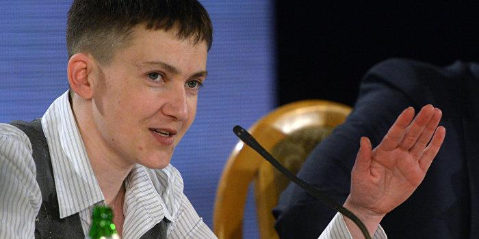 Савченко выступила за отмену антироссийских санкций