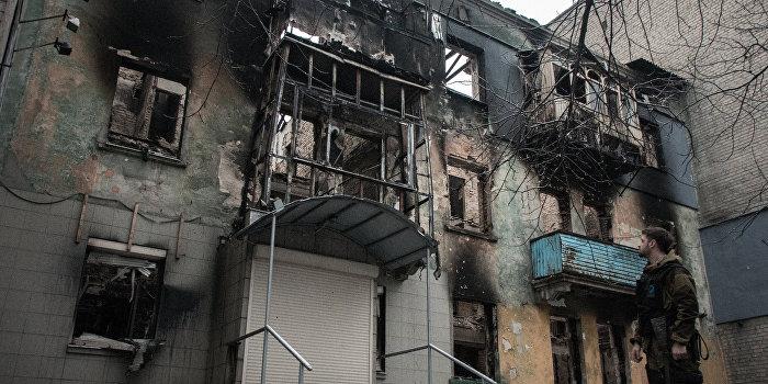 Киев оценил затраты на восстановление Донбасса