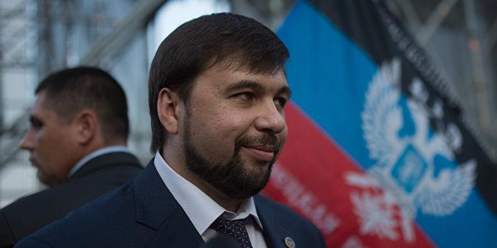 Пушилин назвал ключевое условие для перемирия в Донбассе