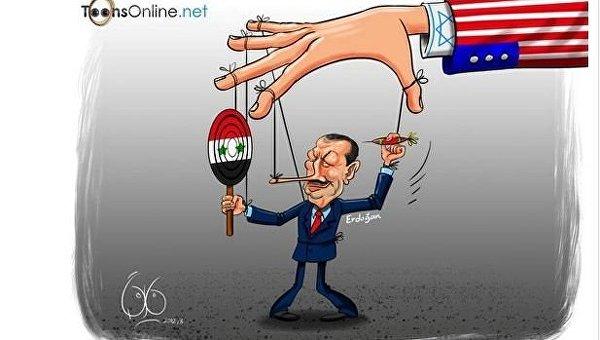 Эрдоган извинился за сбитый Су-24: популярные карикатуры из соцсетей
