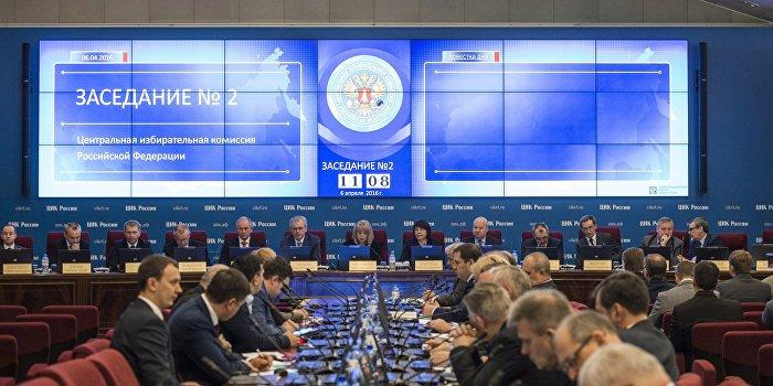 ЦИК РФ ожидает провокации на Украине в день выборов в Госдуму