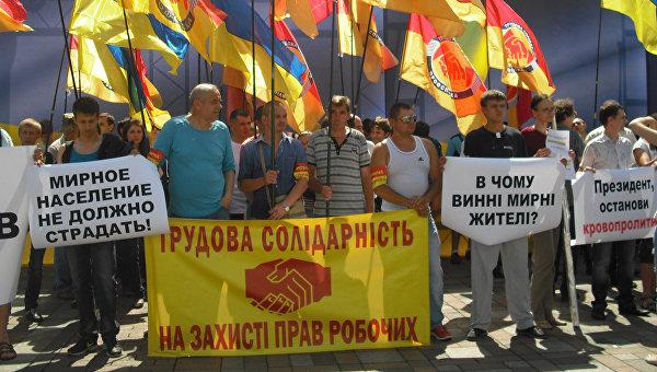 Украинские заробитчане в Польше бьются за зарплату