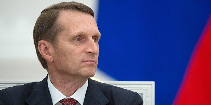Нарышкин: США не заинтересованы в урегулировании ситуации в Донбассе