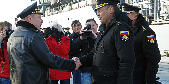 Командующим Балтфлотом назначили бывшего украинского адмирала