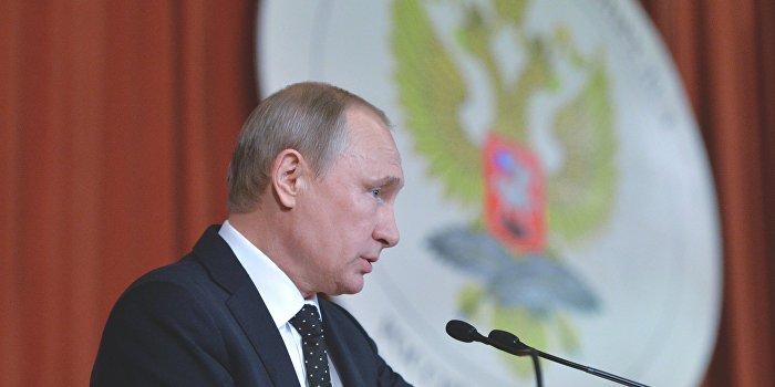 Путин рассказал, зачем НАТО наращивает силы на границах с РФ