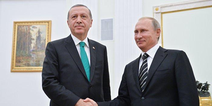 Путин поговорил с Эрдоганом о перевороте и договорился о встрече