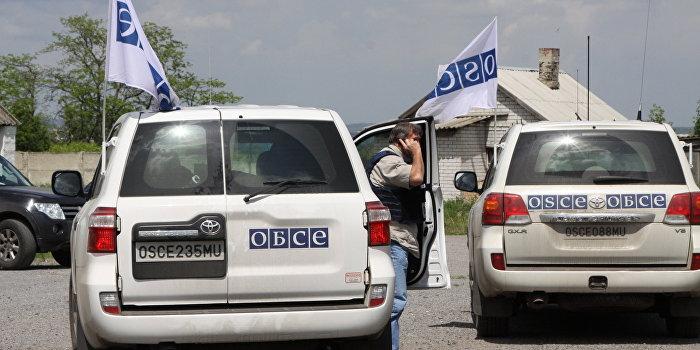 Украина не разрешила ОБСЕ проверить отведенное вооружение