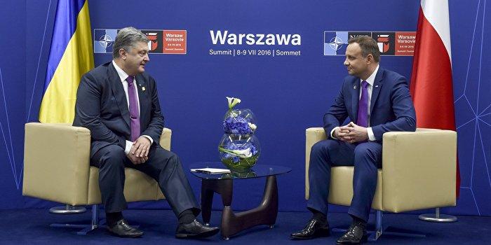 Порошенко предложил Дуде посетить село, где поляки вырезали украинцев