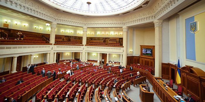 Брюссель и Киев не хотят досрочных выборов в Раду