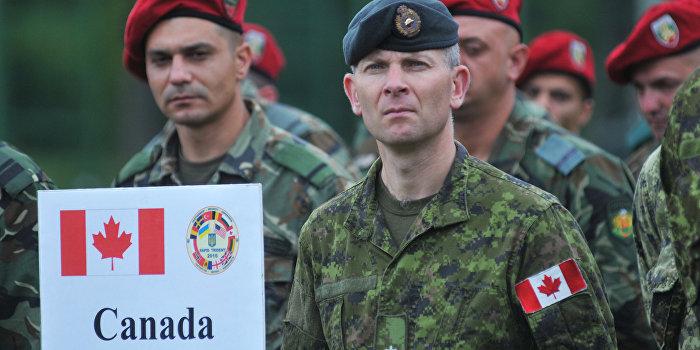 Украина просит канадских военных остаться