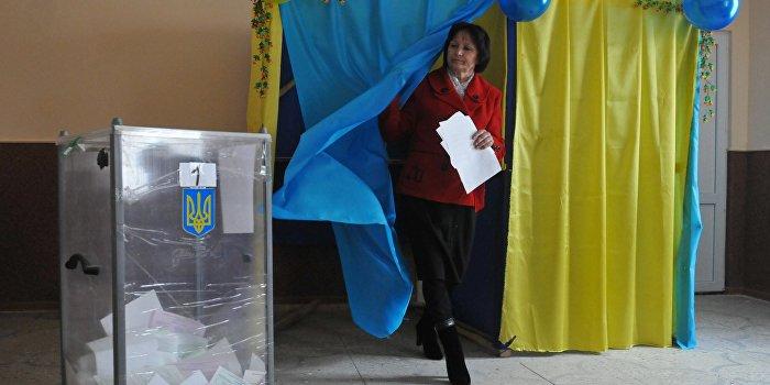 Явка на довыборах в Раду была низкой