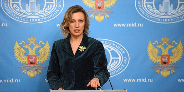 Захарова ответила на намеки Порошенко на «российский след» в убийстве Шеремета