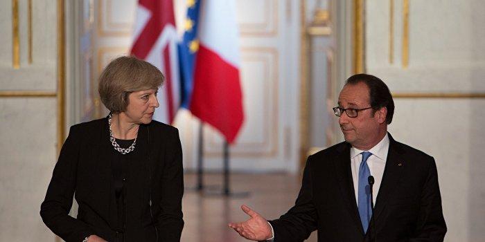 Франция требует ускорить выход Британии из ЕС