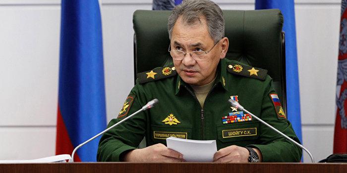 Шойгу проверяет флот в Крыму