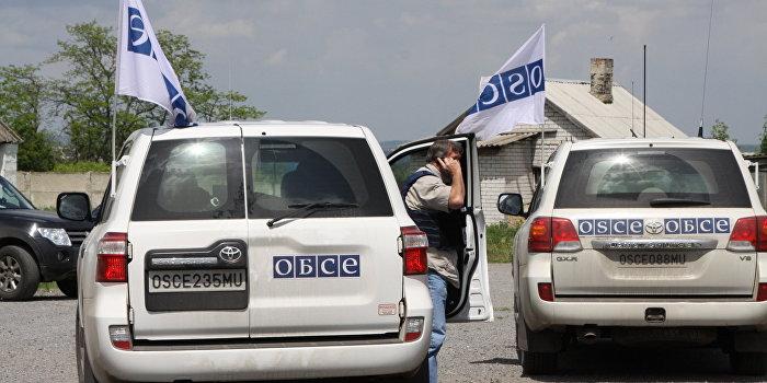 ОБСЕ сообщила об обострении ситуации в Донецкой области