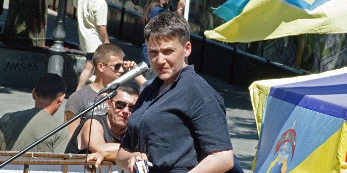 Савченко рассказала о своем праве просить прощения у Донбасса