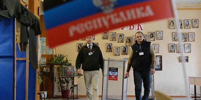Донецк и Луганск давят на Киев выборами