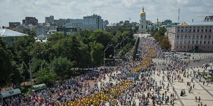 Крестный ход: осталось взять Киев
