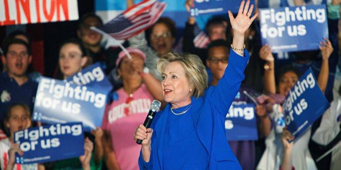 Хиллари Клинтон официально выдвинута кандидатом в президенты США