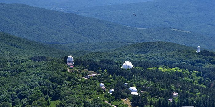 Крым передал обсерваторию Российской Академии Наук