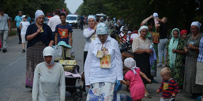 МИД РФ: Бездействие властей Украины во время Крестного хода нарушает права верующих