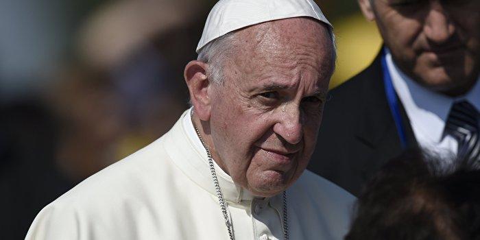 Папа Римский: Мы находимся в состоянии войны