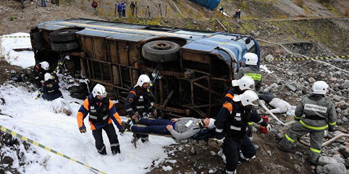 В Норвегии разбился украинский автобус