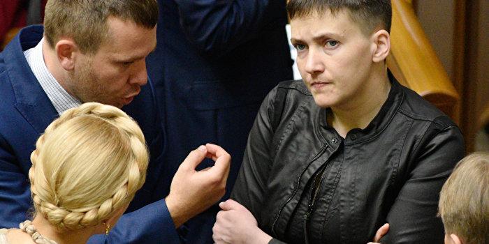 Савченко вышла из партии Тимошенко
