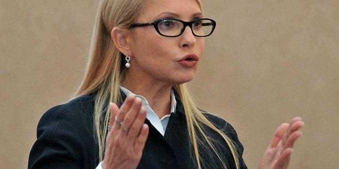 Тимошенко «противодействует» информационной войне через офшоры