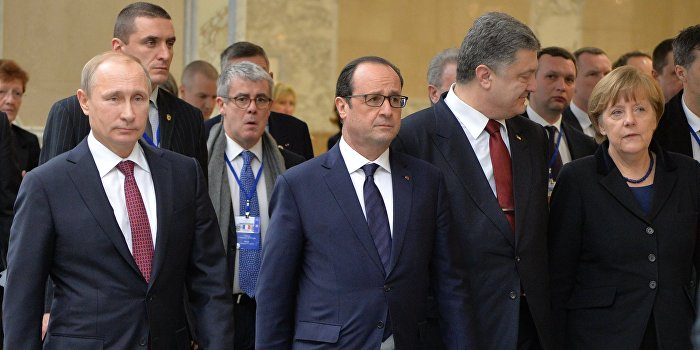 Кремль сообщил о подготовке встречи «нормандской четверки» на высшем уровне