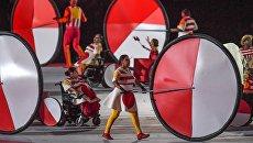 Человек-киборг поддержал белорусов за российский флаг на открытии Паралимпиады