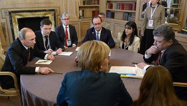 Берлин и Париж озвучили новые указания для Киева